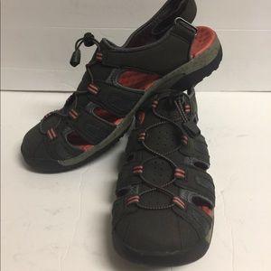 Shoes - Clark'sWomen's Gray  Water/ Hiking Sandals  Sz 9M